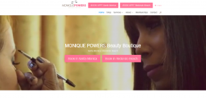 Monique Powers, International Makeup Artist and Eyebrow Specialist Launches New E-Commerce Website