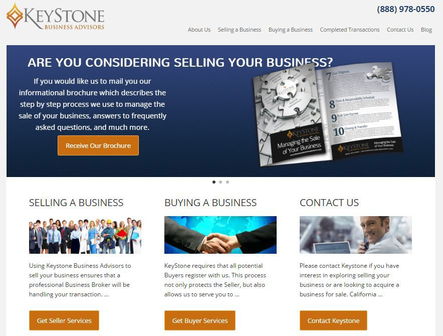 GoMarketing Announces the Launch of the Redesigned Website for Keystone Business Advisors