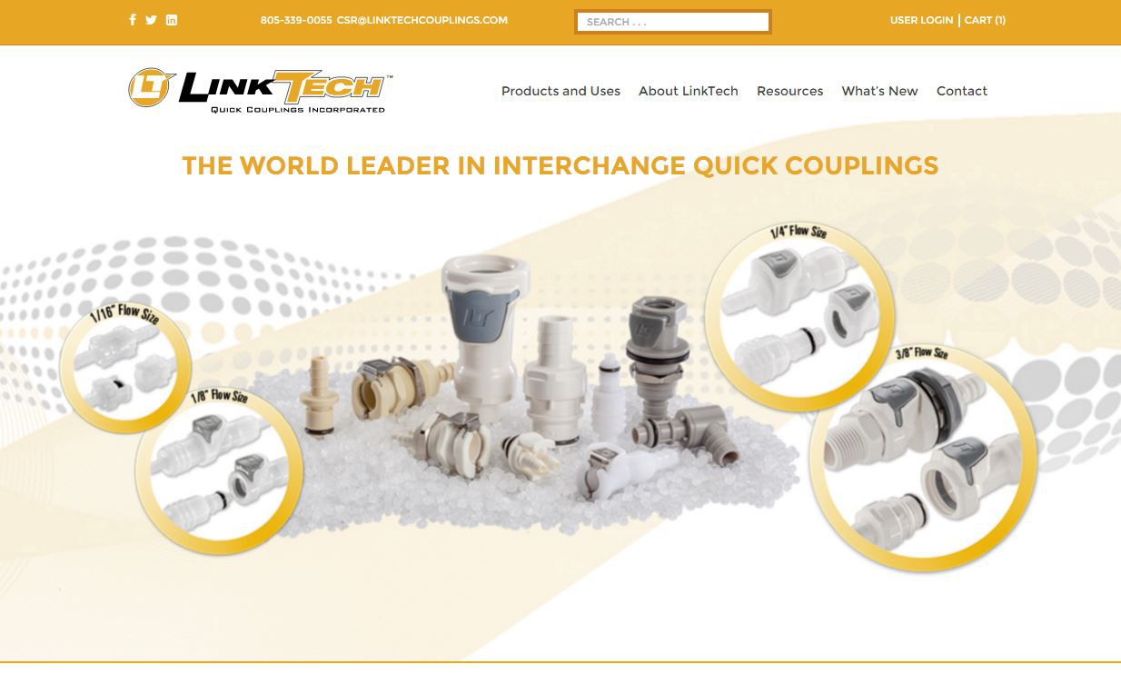 LinkTech Quick Couplings Inc. Launches New 50PP Series and 42AB Series Couplings