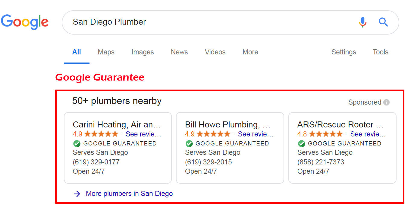 Richard Uzelac What HVAC and Plumbers, Must Know About The Google Guarantee