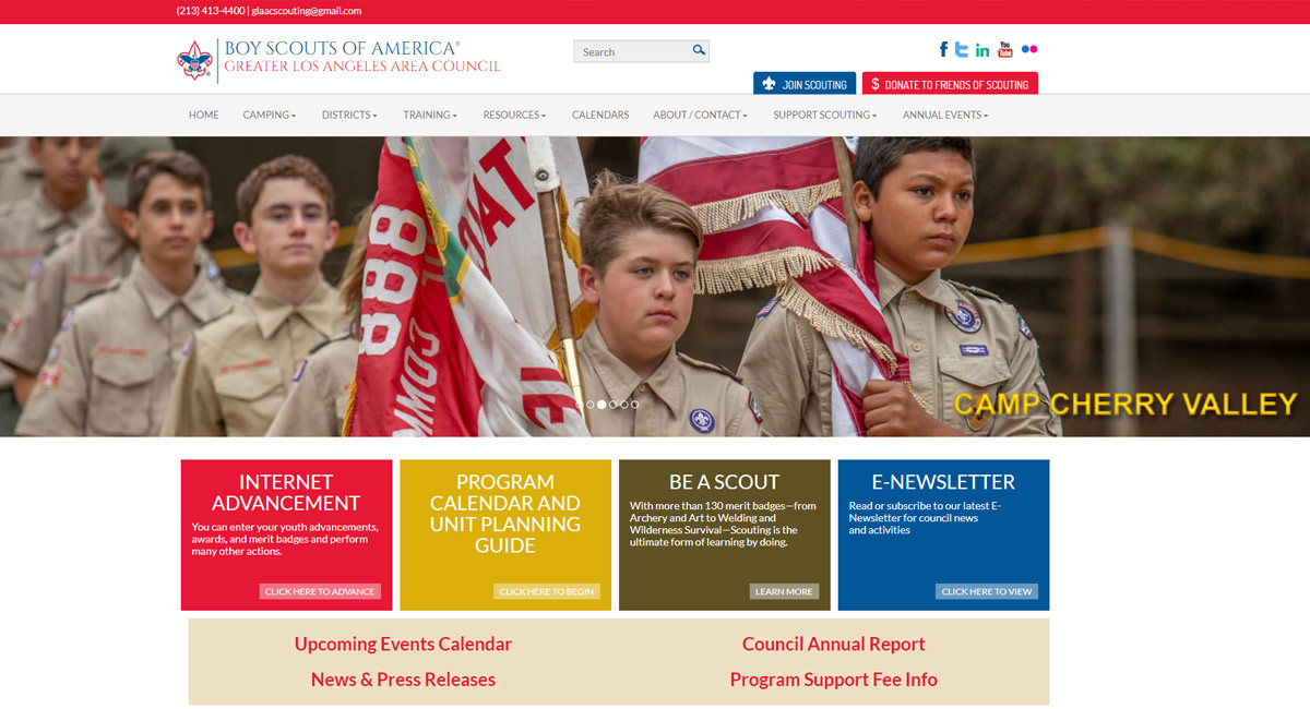 GoMarketing Scouts Digital Marketing Success For Boy Scouts Of L.A.