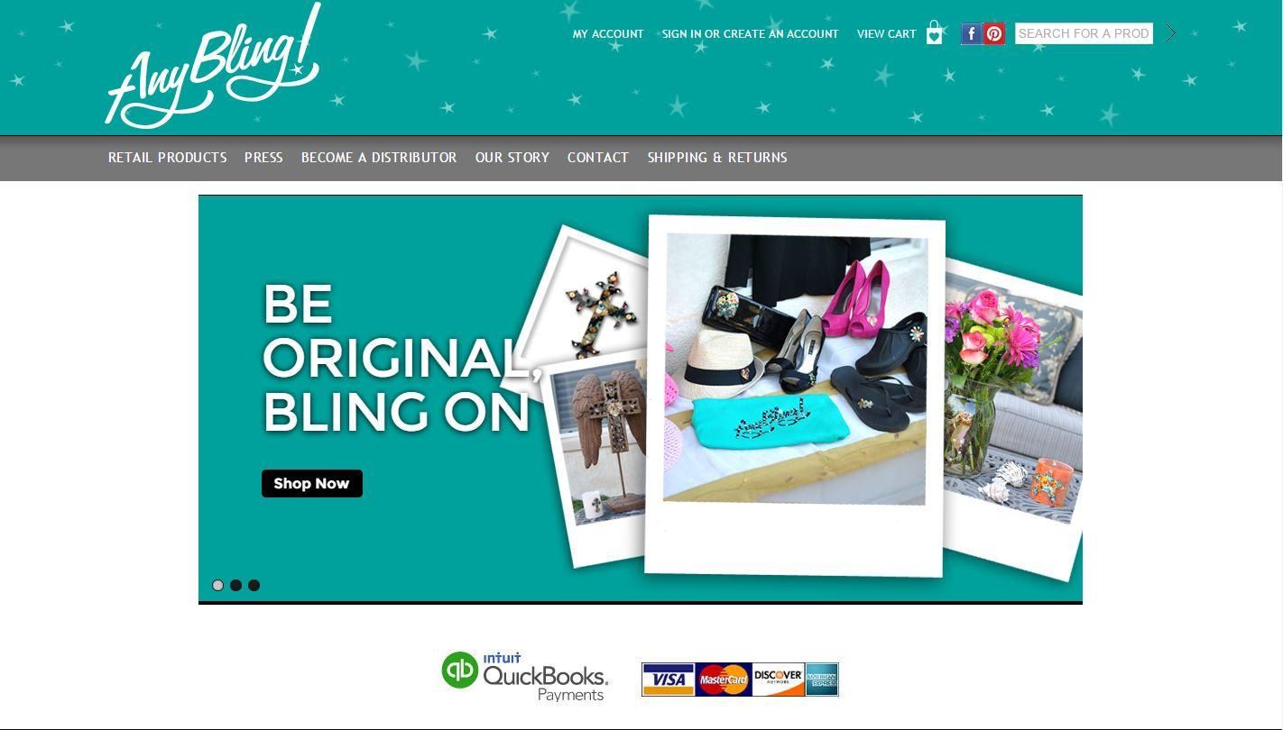 AnyBling! Announces Launch of New Wholesale Bling Products Website for the Public and Wholesale Distributors and Merchants Nationwide