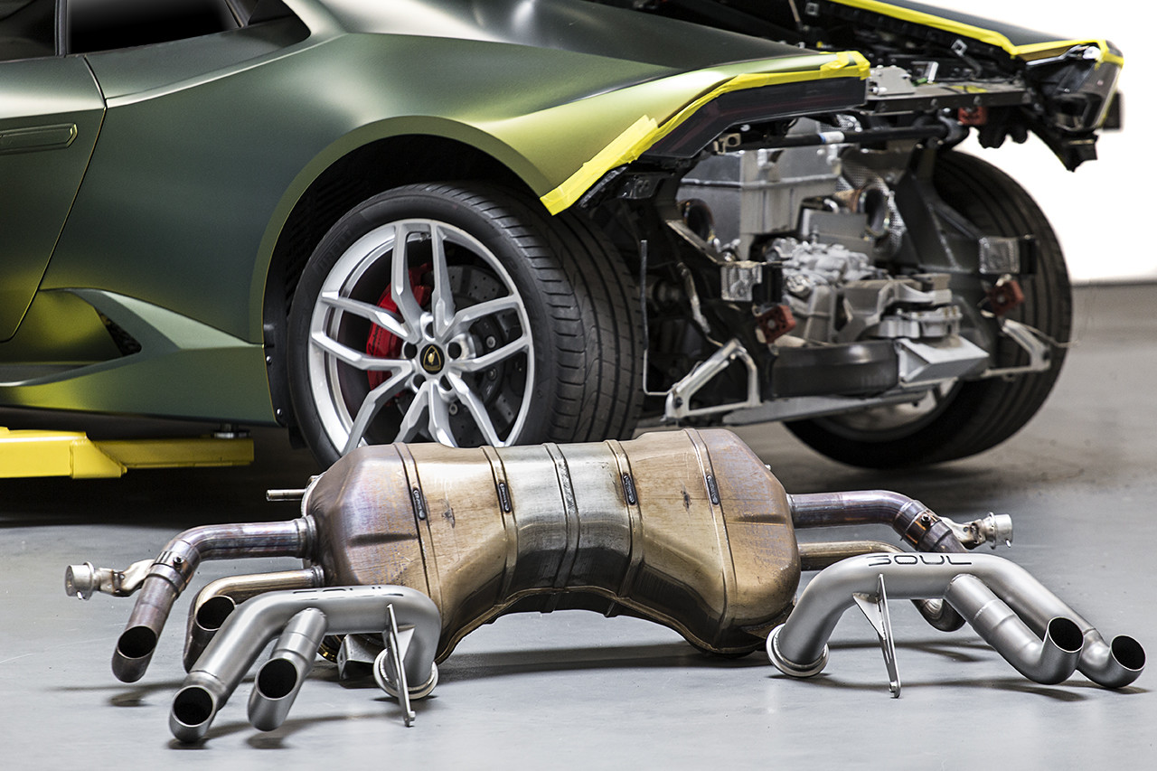 Famous Autosports Has Just Released Their First Catalog, Showing Off Their New Custom Carbon Fiber Parts and Custom Exhaust Systems for the 2015 Lamborghini Huracan
