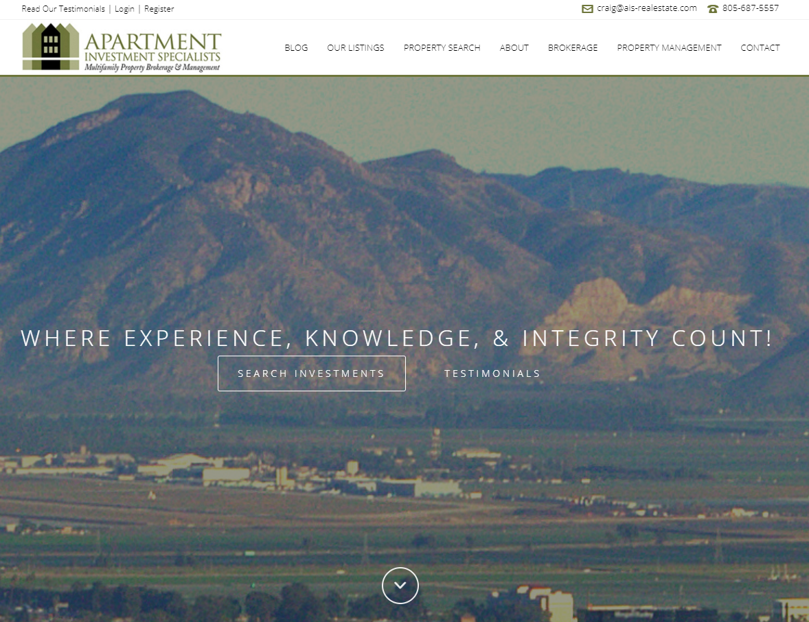 Apartment Investment Specialists of Santa Barbara, CA Reports Banner Sales for 2014
