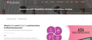 GoMarketing's CEO Richard Uzelac, Announces New Americans with Disabilities Act Website Compliance Services