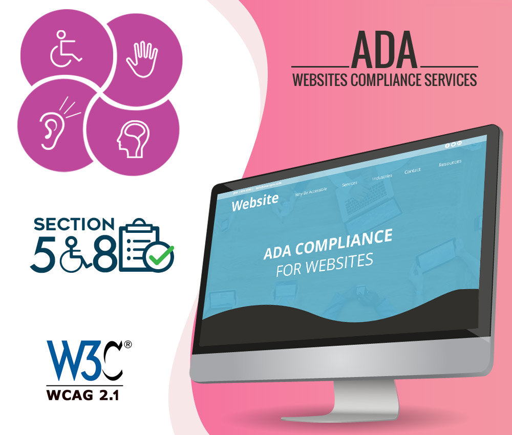 California ADA Compliance Website Services.