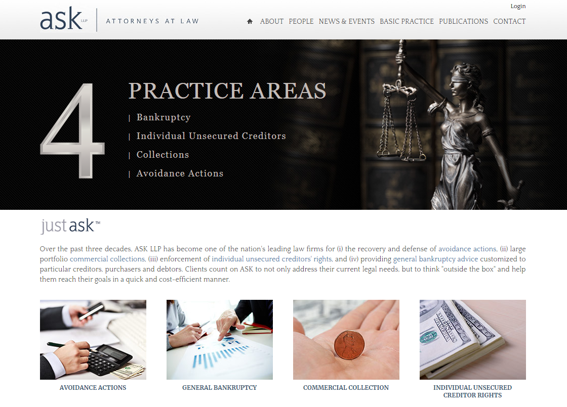 ASK Financial LLP & Neiger LLP Merge Bankruptcy and Corporate Law Practices to form ASK LLP