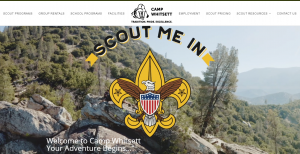 GoMarketing Inc. Launches Three New Camping Websites for the Western Los Angeles County Council of the Boy Scouts of America