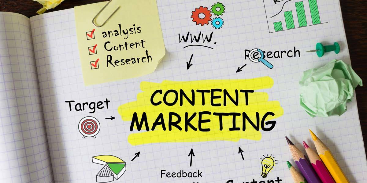 There are many ways to go about our content marketing