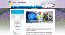 New MaxLife Solution Home Page