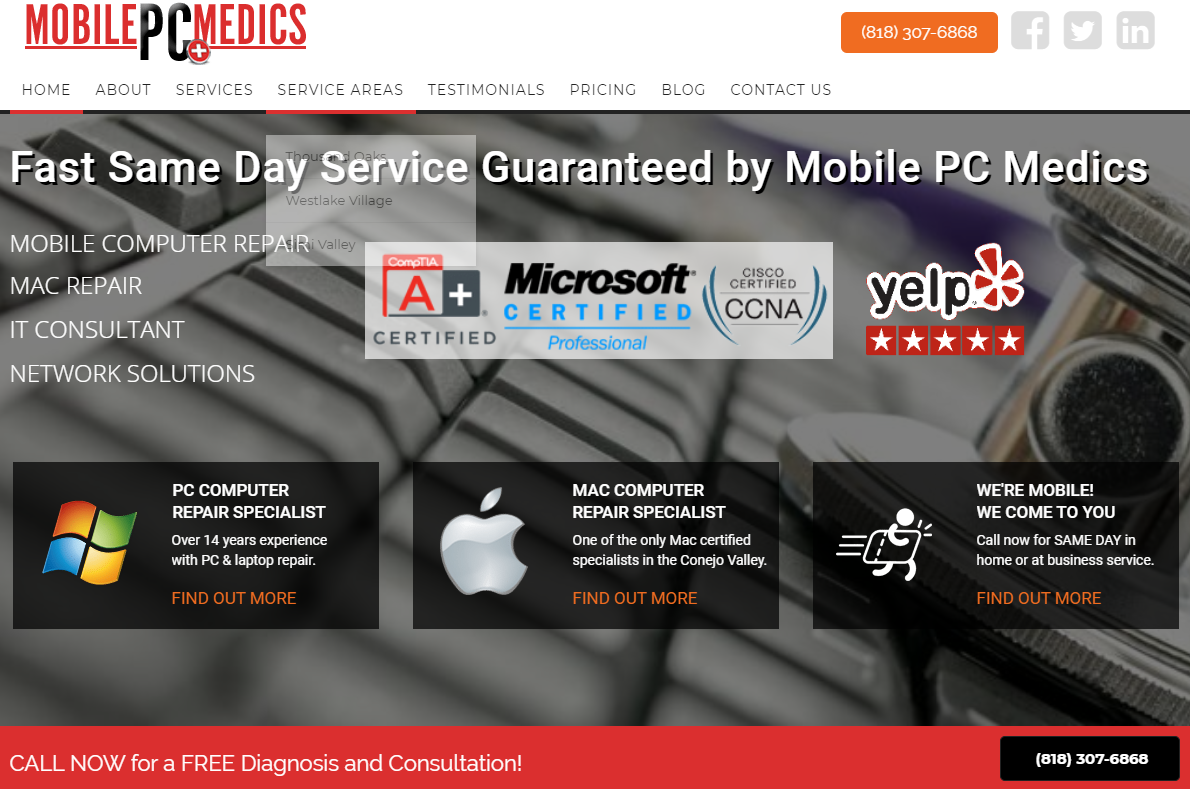 GoMarketing.com CEO, Richard Uzelac Announces the Launch of Mobile PC Medics Site with Online Marketing Programs