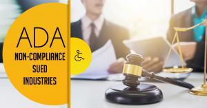 14 Most Sued Industries for Americans with Disabilities Act (ADA) Non-Compliance