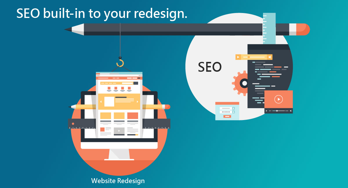SEO built-in to your redesign