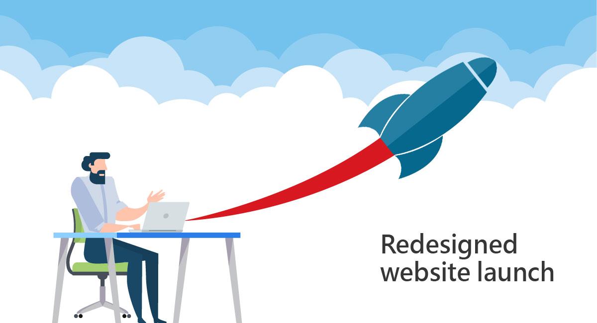 Establish a successful redesign website launch
