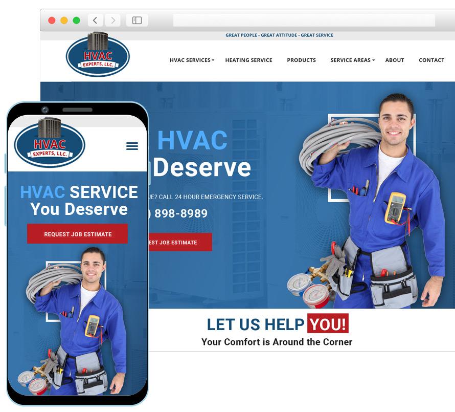 HVAC Web Design SEO Services