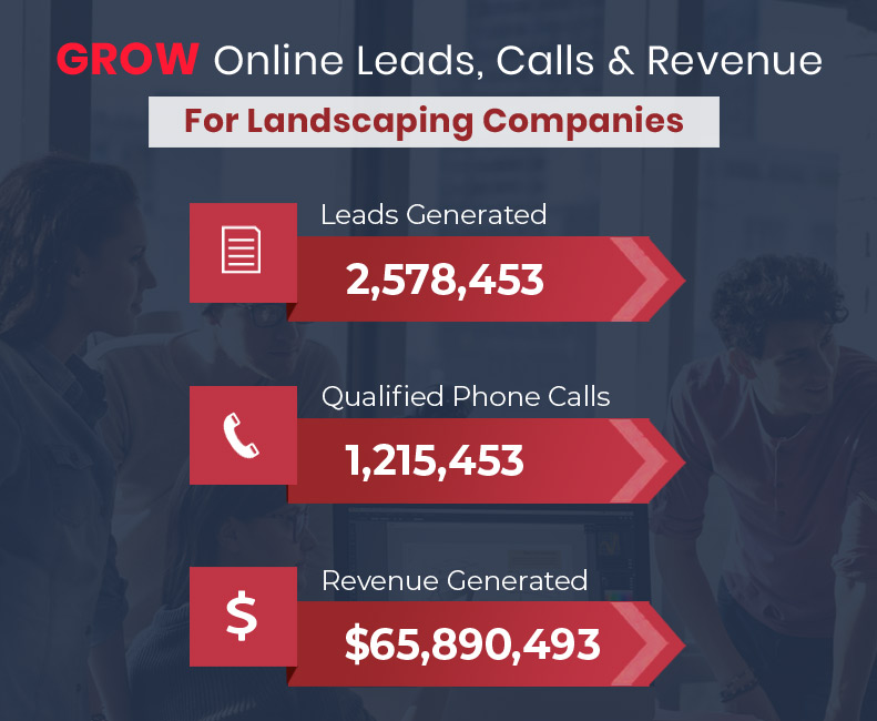 Grow Online Leads, Calls and Revenue for your Landscaping Conpany