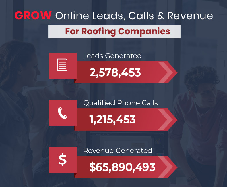 Grow Online Leads, Calls and Revenue for your Roofing Companies