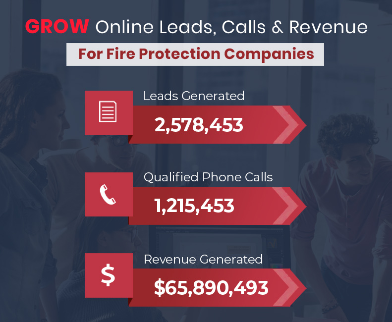 Grow Online Leads, Calls and Revenue for your fire protection Company