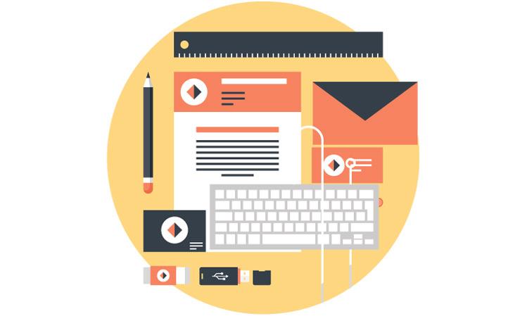 Copywriting for website design